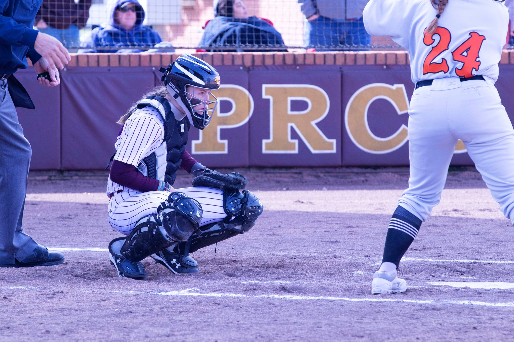 Pearl River opened the Wildcat Invitational on Friday, Feb. 8, 2019 by playing Marion Military Institute at Lady Wildcat Stadium in Poplarville, Miss. (KRISTI HARRIS/PRCC ATHLETICS)