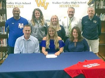 Walker Valley's King Signs With Vol State