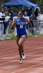 Gaucho Track Faces Rival Cal Poly in a Dual Meet This Weekend
