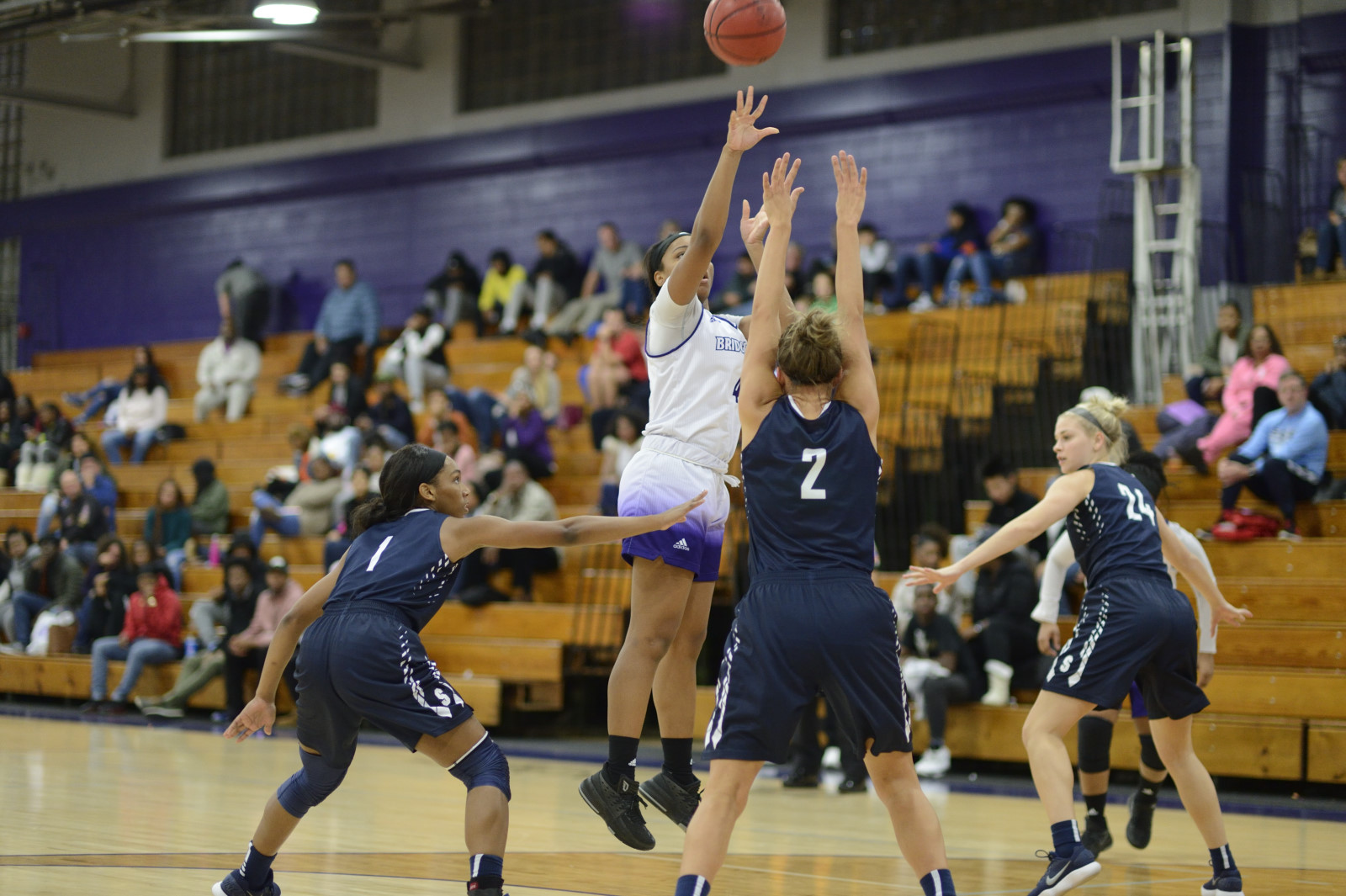 Third Quarter Blitz Lifts UB Women Basketball To ECC Win Over Mercy College