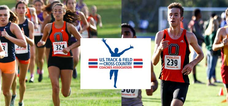 Oxy XC Receives USTFCCCA Academic Honors