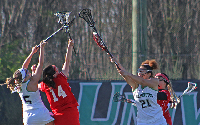 Georgian Court Takes Down Wilmington Women's Lacrosse, 17-4, in CACC Action