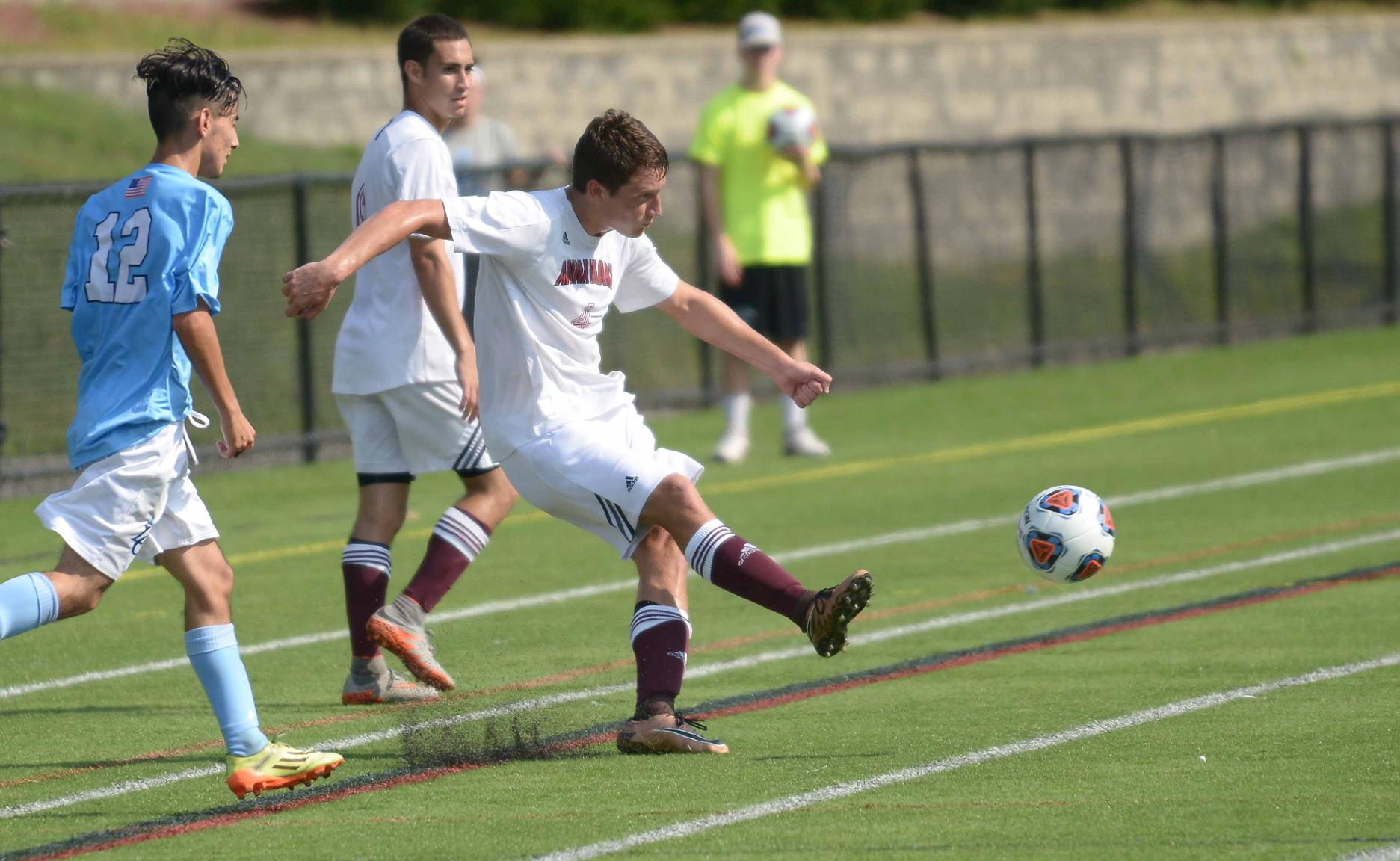 Men's Soccer Claims 3-1 Victory over Becker