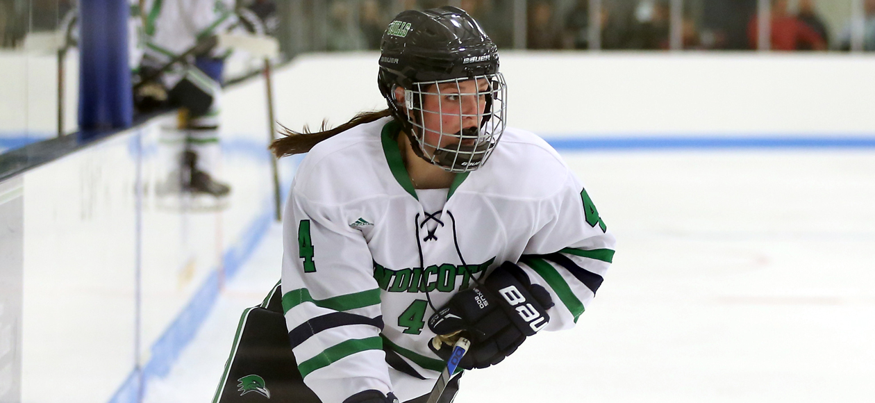 Women's Ice Hockey Ends Regular Season With 2-0 Win Over Salem State