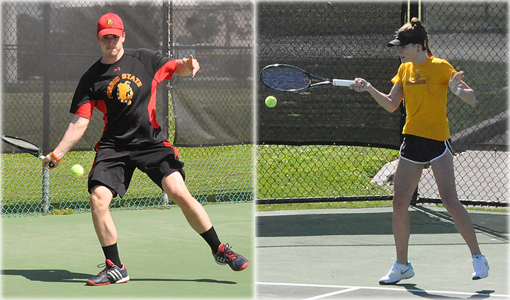 Ferris State Battles One Of Nation's Top-Ranked Teams In Men's & Women's Tennis Play