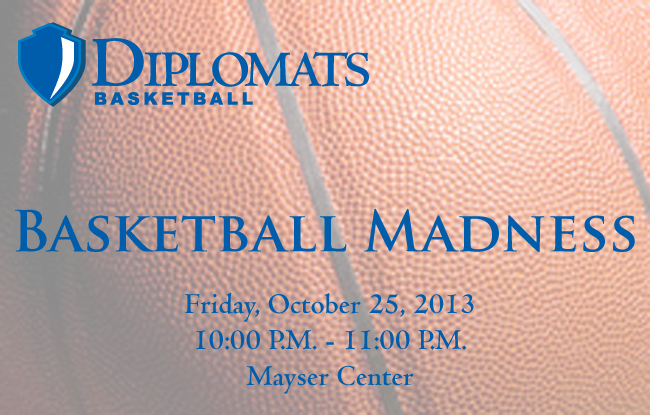 Basketball Madness Set for Friday, Oct. 25th