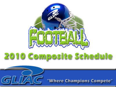 2010 GLIAC Football Schedule Announced