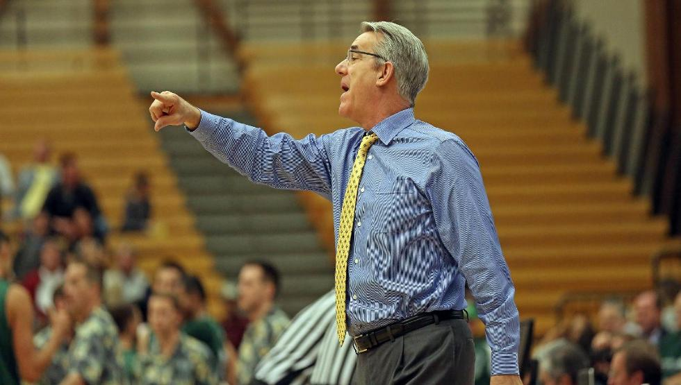 Bob Williams recorded his 300th coaching victory at UCSB as the Gauchos defeated UC Riverside on Thursday night, 65-55. (Photo by Eric Isaacs)