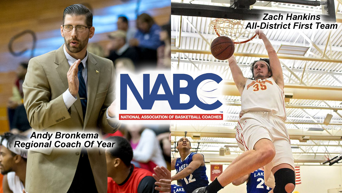 FSU's Hankins Named To NABC All-District Team & Bronkema Claims Regional Coach Of Year Honors