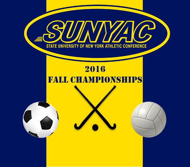 SUNYAC Soccer, Field Hockey, and Volleyball Championships: Live Stats and Video