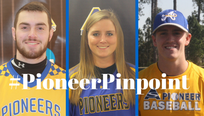 Kruger, Buck, and Kuzma Share #PioneerPinpoint Honors