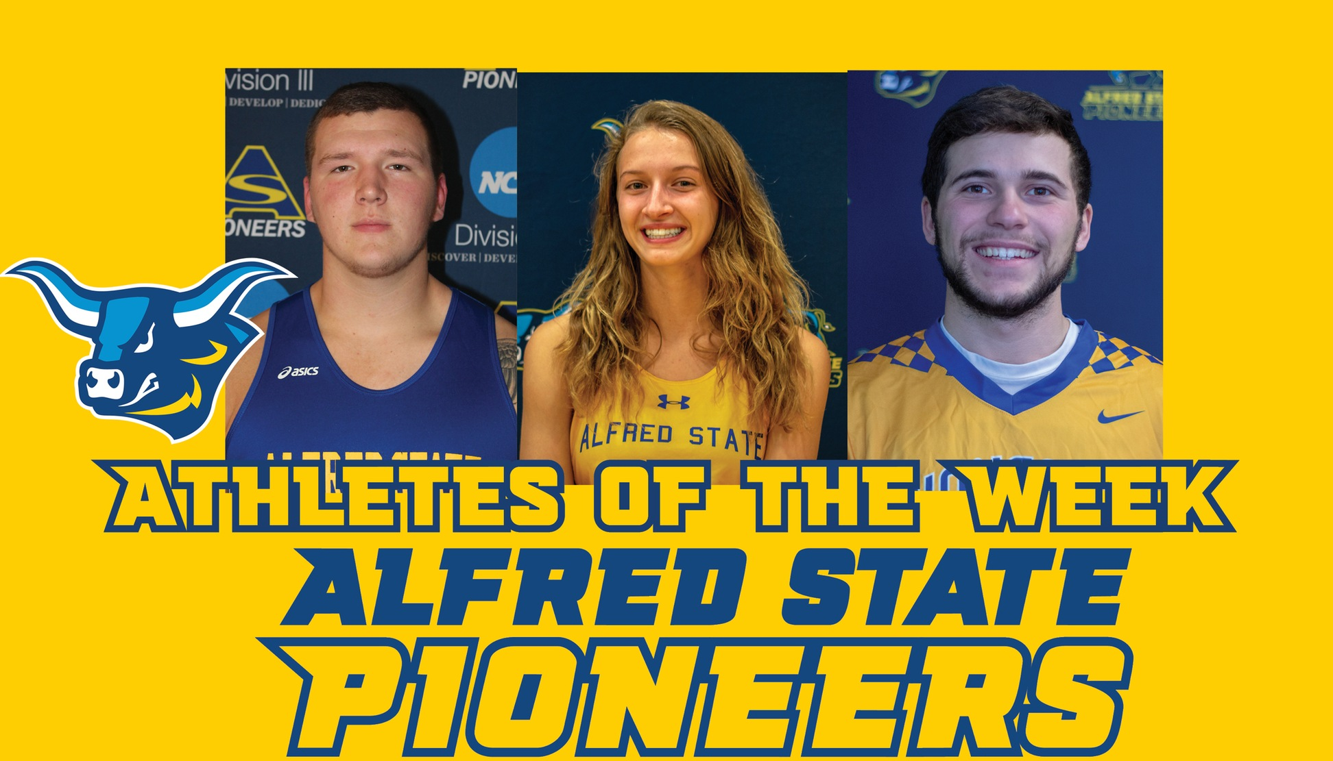 Paul Kemsley, Emily Brigman, and Nic Covelli Named Athletes of the Week