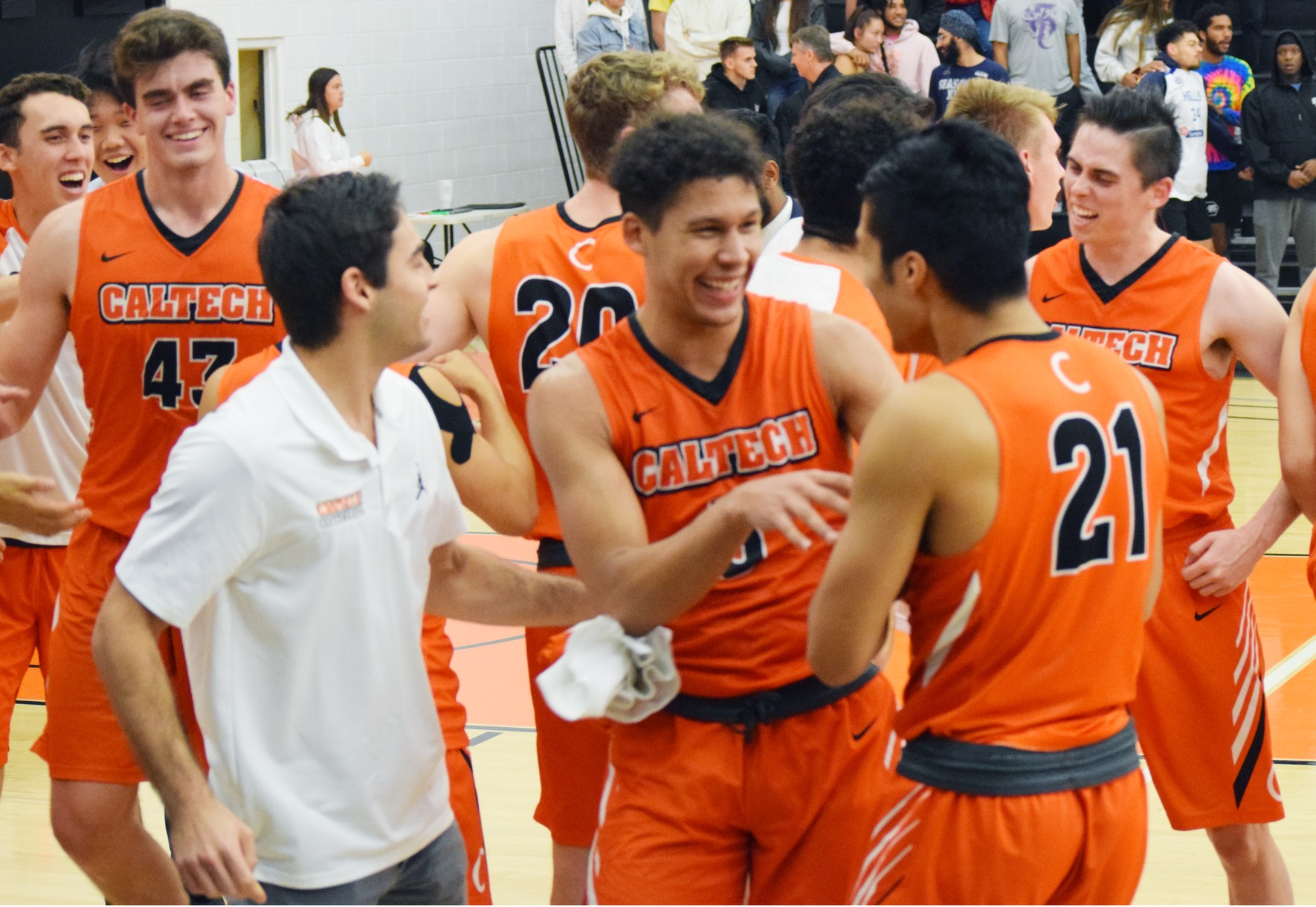 Caltech Holds Off Oxy in 110 Rivalry