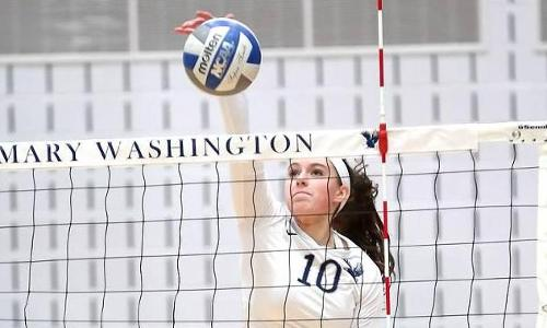Freshmen Hitters Lead UMW Volleyball Past Salisbury in CAC Action, 3-1