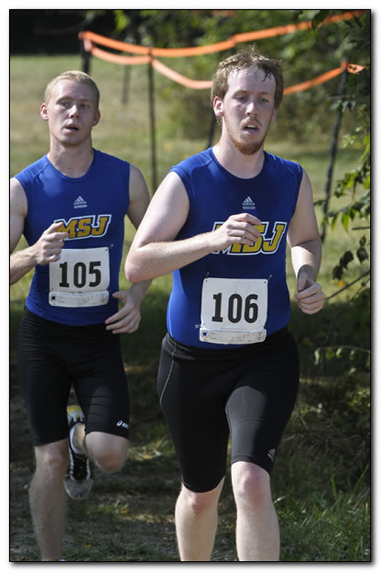 Mount men's cross country team places eighth at the Friendship Invitational