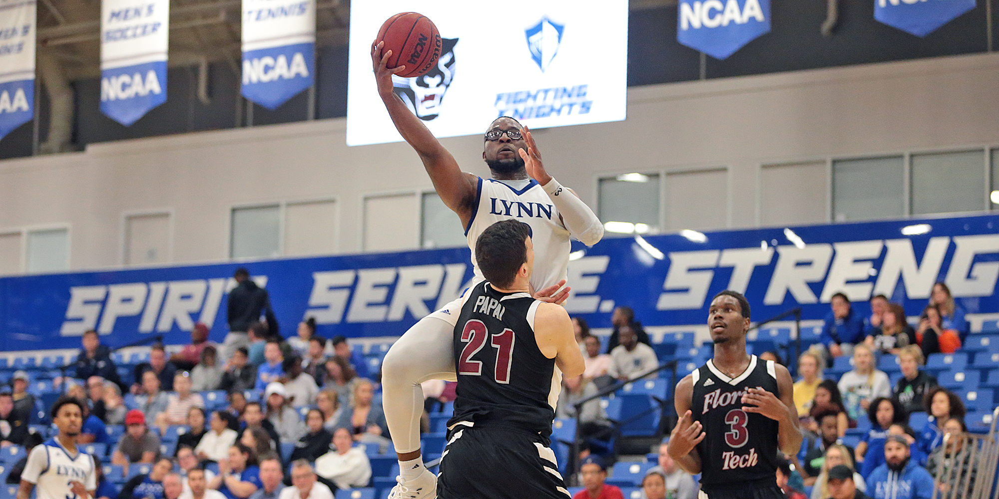 Men's Basketball's Second-Half Surge Puts Florida Tech to Sleep