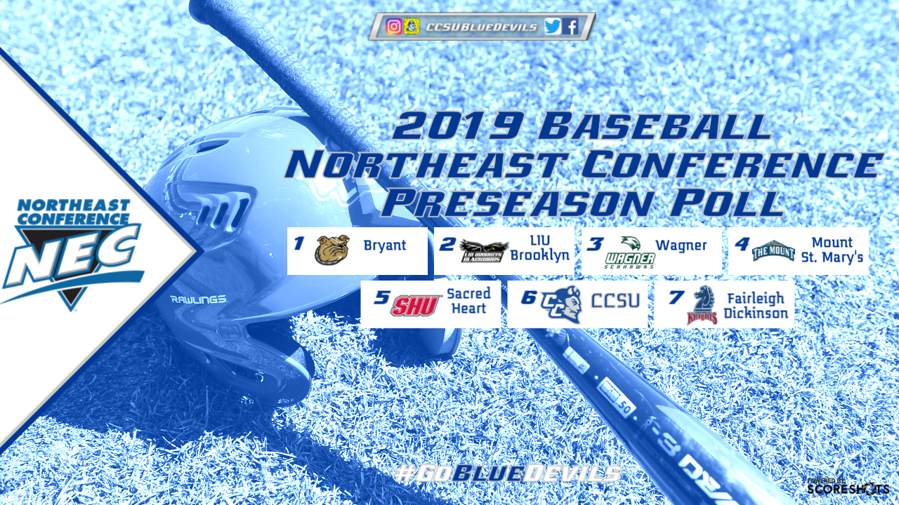 Northeast Conference Baseball Preseason Coaches' Poll Announced