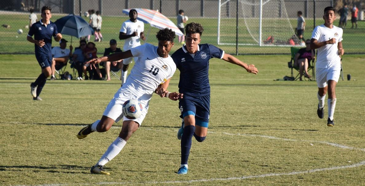 Men's soccer team ends up in scoreless draw against Cypress