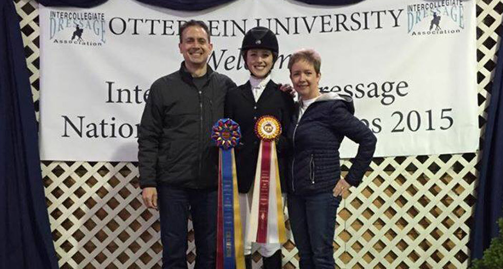 Calas Brings Home Blue at Dressage Nationals