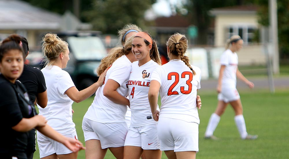 Women's soccer wins first SLIAC match