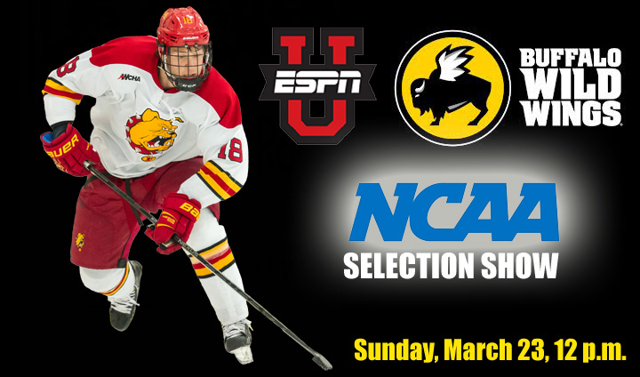 NCAA Hockey Selection Show Watch Party This Sunday At Big Rapids' Buffalo Wild Wings