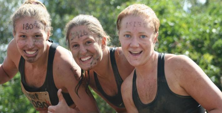 Women's Basketball student-athletes complete Tough Mudder