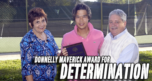 Chen, Girling receive 2011 Golden Eagle Tennis Team awards