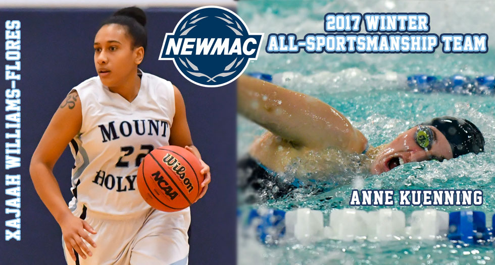 Two Named to NEWMAC Winter All-Sportsmanship Teams