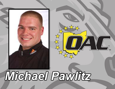 Junior Michael Pawlitz named OAC Wrestler of the Week for the third time this season