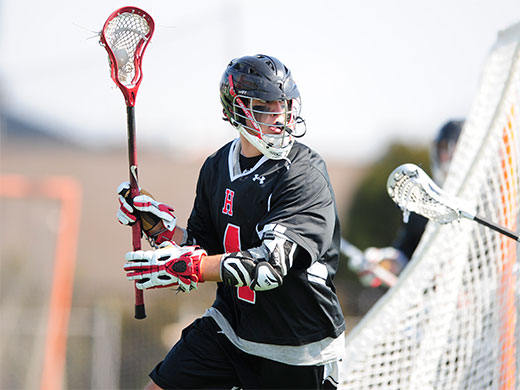 Men's LAX cruises to win over Knights