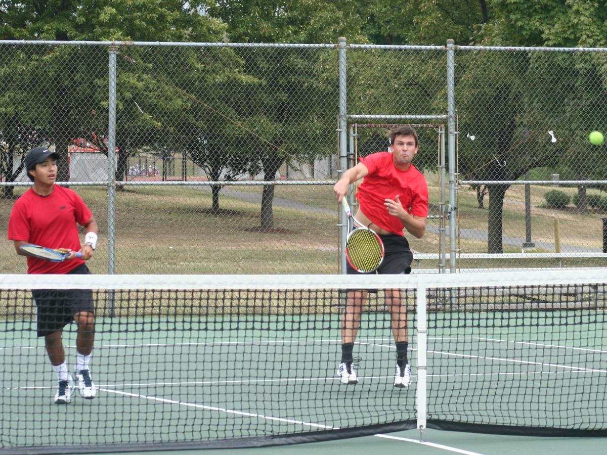 Catholic Men's Tennis Ends Fall Action at .500