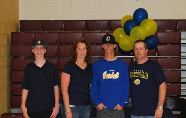 Webb Signs on to Play Baseball at Coker