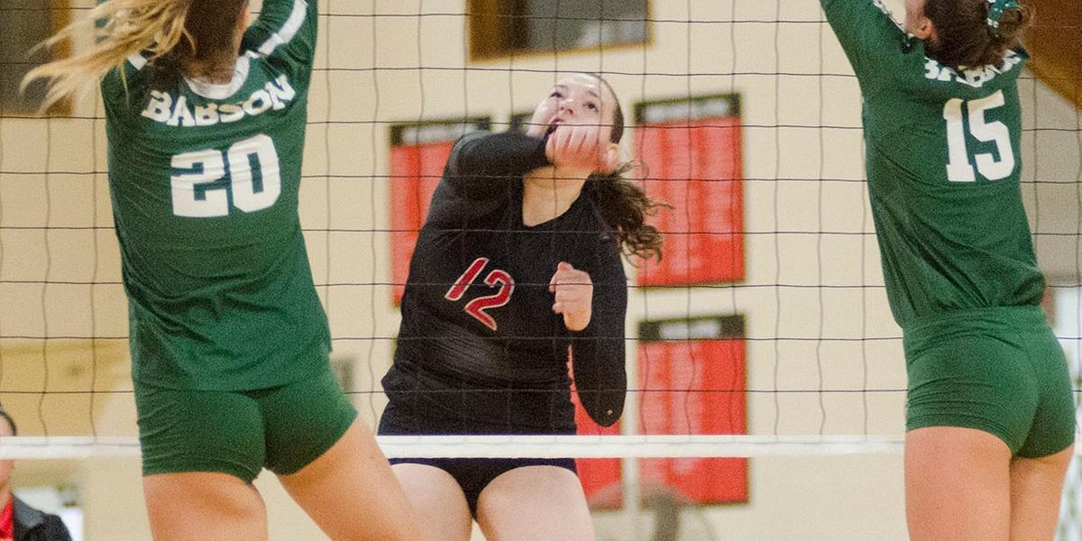 Volleyball Bested by Keene State in Home Opener
