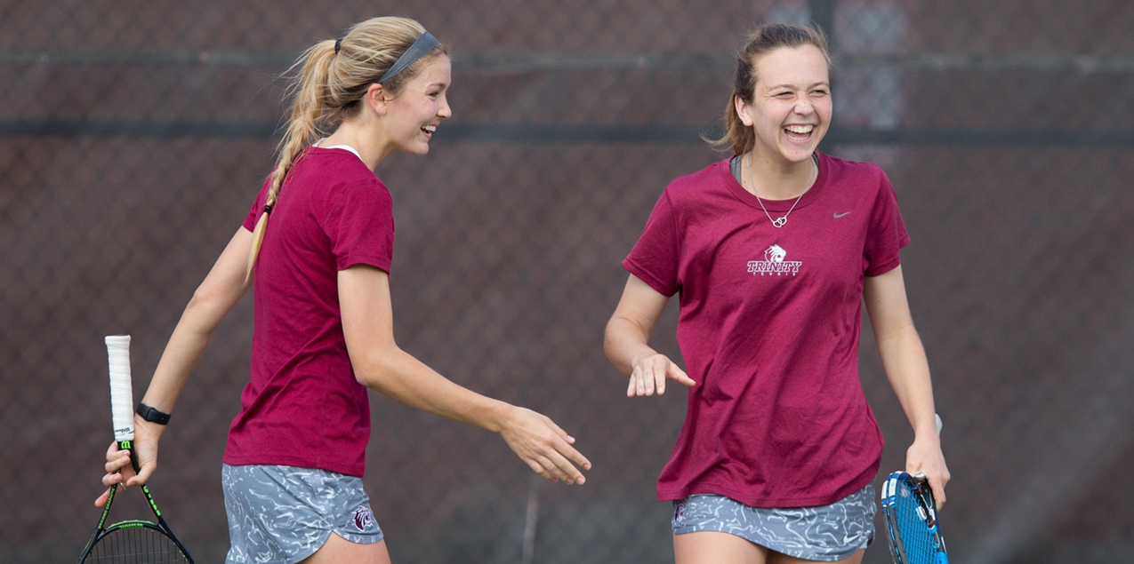 Cheyenne Duncan/Caroline Kutach, Trinity University, Women's Tennis Doubles Team of the Week (Week 11)