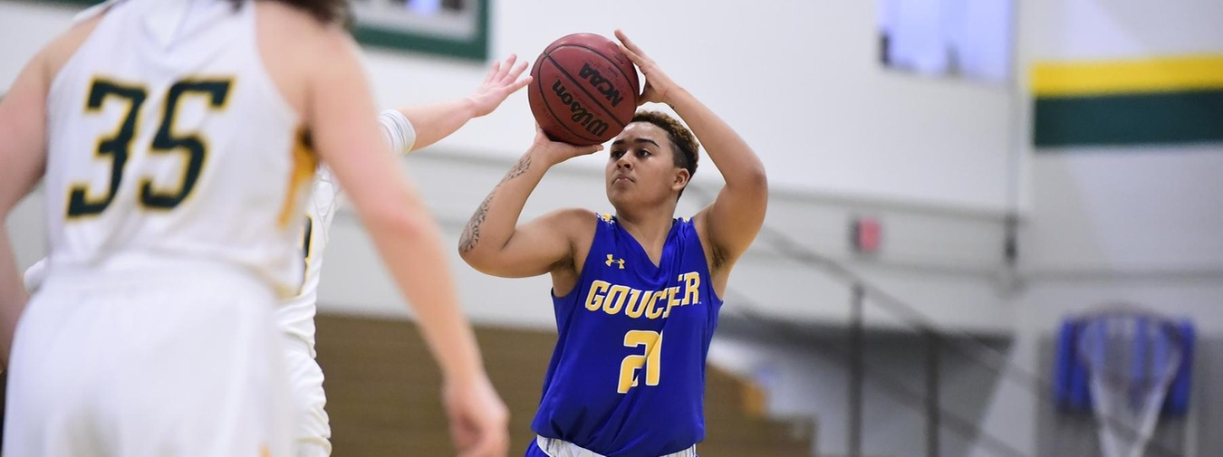Goucher Women's Basketball Drops A 66-54 Contest To Moravian
