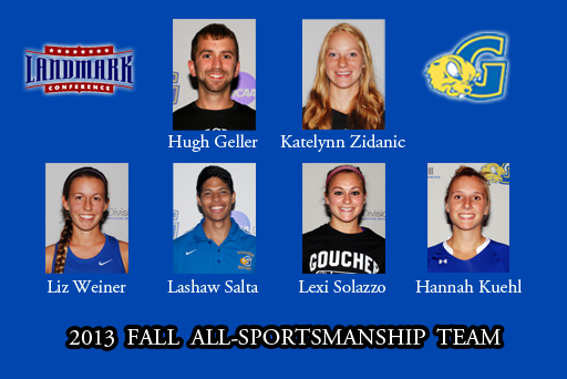 Six from Goucher Make All-Sportsmanship Team