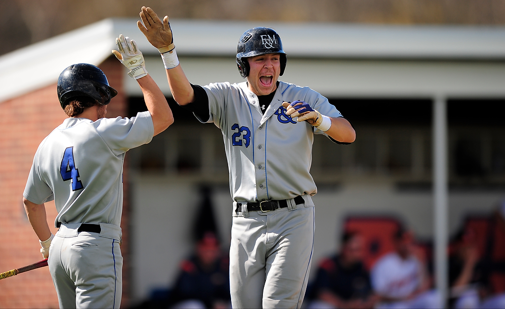 Vincent Hits Grand Slam as F&M Handles York