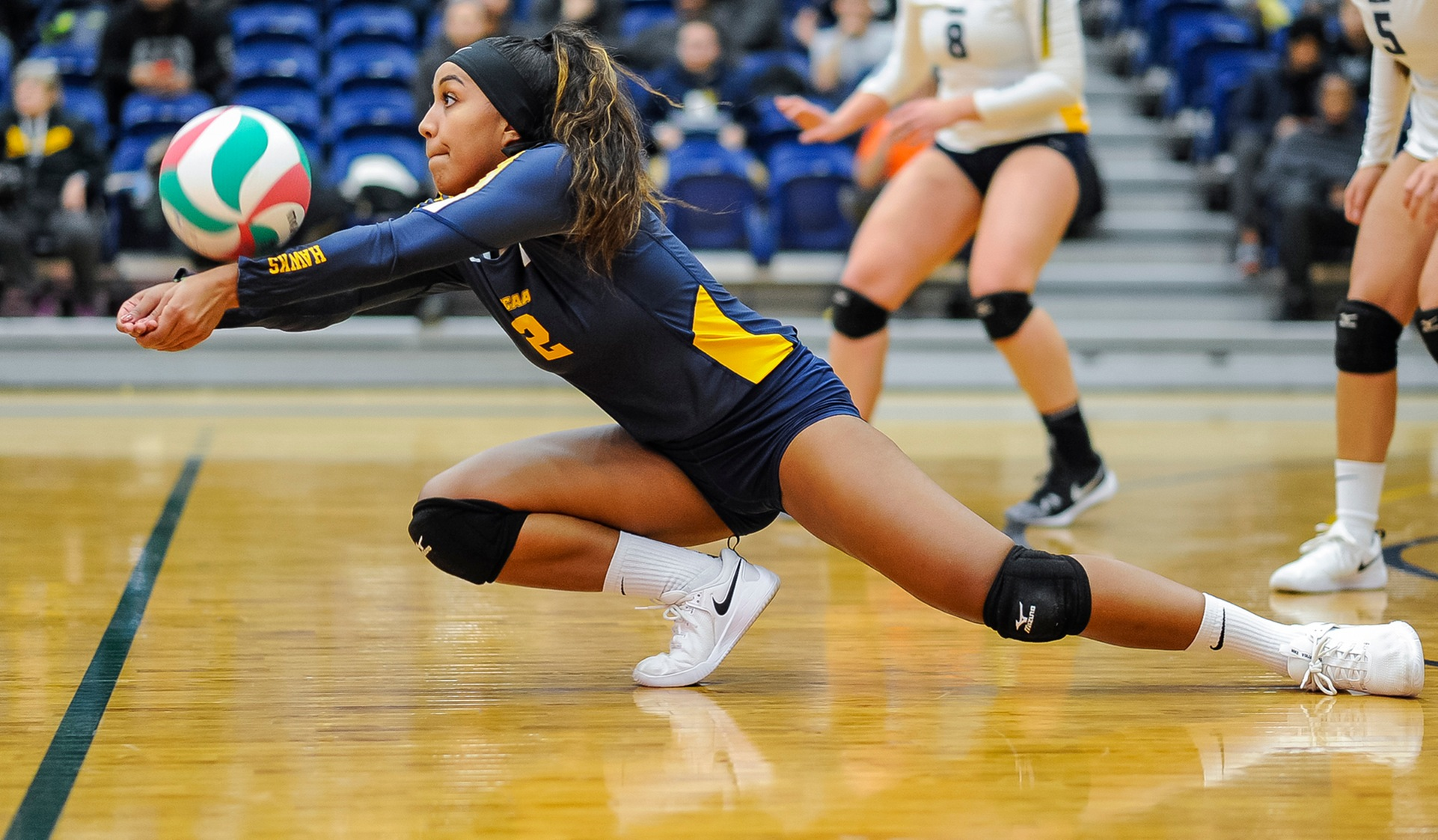 HAWKS SOAR TO START SECOND HALF WITH 3-0 SWEEP OF SHERIDAN