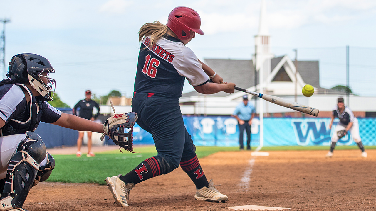 Lynchburg's Mackenzie Chitwood now has sole possession of the ODAC and Lynchburg single-season records for homers as her 18th big fly of the season propelled the Hornets to a 6-5 walk-off win over Manhattanville College in the 12th inning of their NCAA Tournament opener.