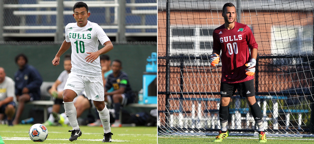 Itoh, Weinstein Collect CCC Men's Soccer Weekly Awards