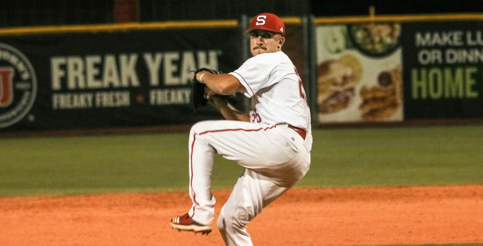 Leo Rodriguez grabbed his eighth save of the season in Friday's 4-3 win at Florida Tech.