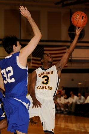 Golden Eagles Roll by Mount Saint Vincent, 110-95