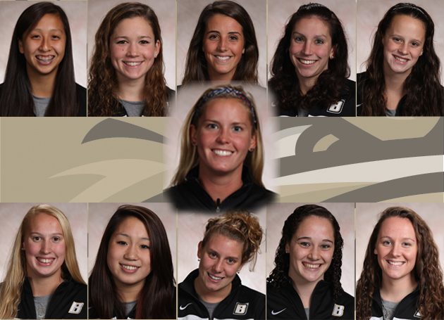 11 Bulldogs named All-NEC in swimming