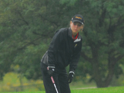 Freshman Jacqueline DeBoer was the Bulldogs' top finisher at the Ferris State Tom Kirinovic Classic.