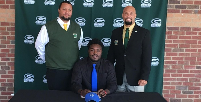 Former Gator Rosheem Collins Signs with Middle Tennessee University