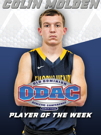 Colin Molden Named ODAC Men's Basketball Player Of The Week
