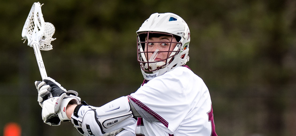 Men's Lacrosse Runs Past Babson, 12-8, in NEWMAC Championship Semifinals