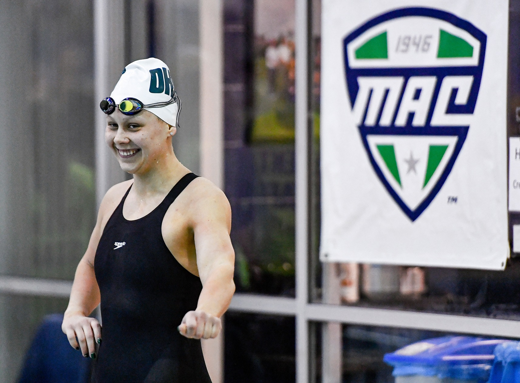 Ohio Tallies Four Individual Podium Finishes on Third Day of 2020 MAC Swimming & Diving Championships
