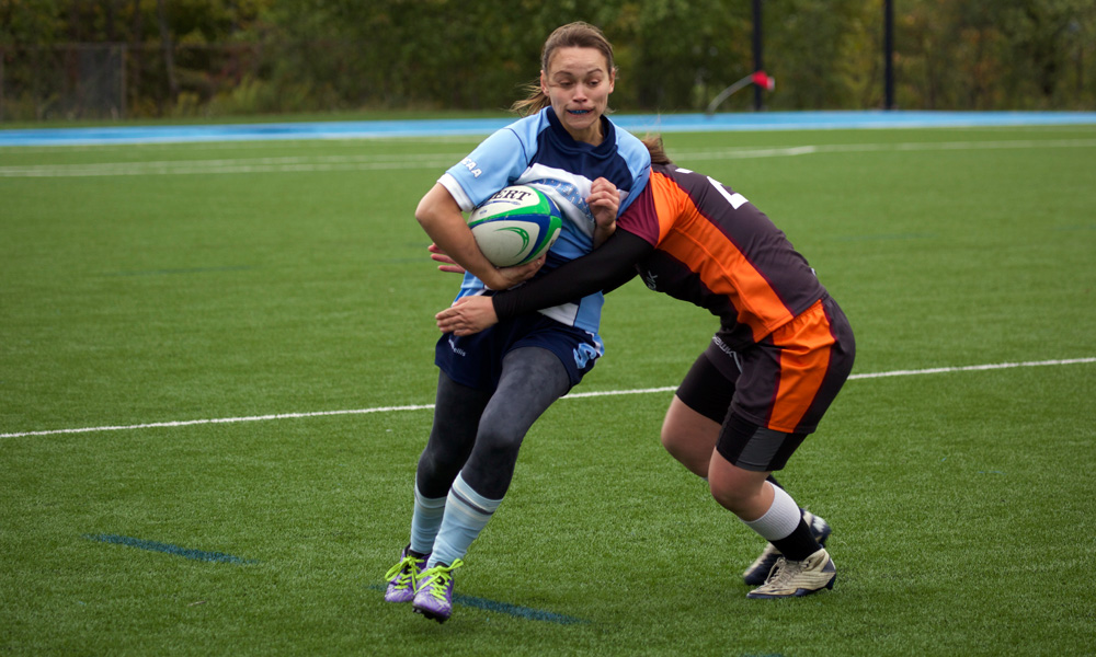 Women's rugby climbing back towards playoff position
