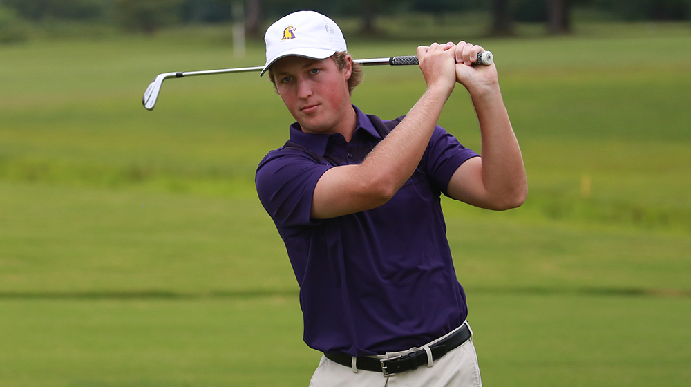 Golden Eagles soar to 14-stroke lead on day one of Samford Intercollegiate